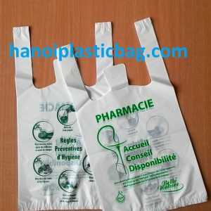 Bio-degradable bags t shirt bags