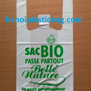 Bio-degradable shopping bags