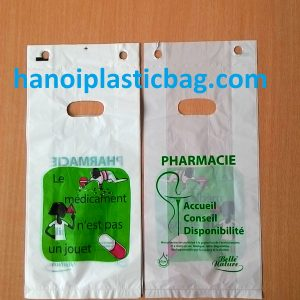 Bio-degradable die cut blochead bags