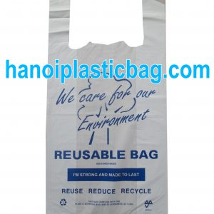 Bio-degradable carrier shopping bags