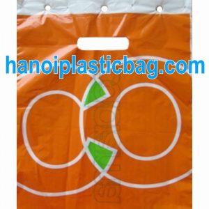 Die cut blockhead bags