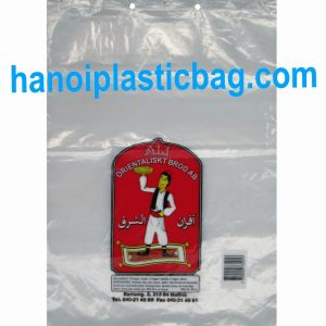 Plastic header bags
