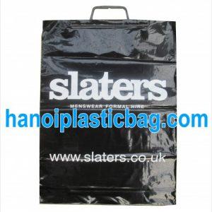 Clip loop shopping bags