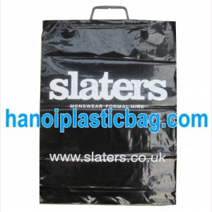 Clip loop shopping bags