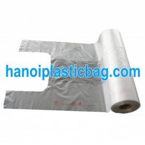 [:vi]Túi xốp cắt quai t-shirt cuộn[:en]Food bag on roll LDPE[:]