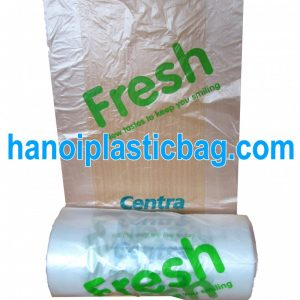 Food bag on roll HDPE