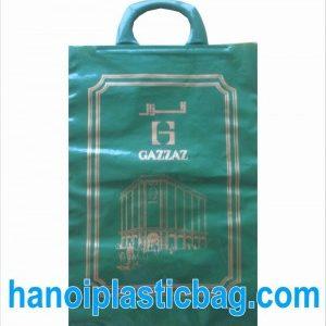 Printed clip loop bags
