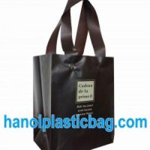 Túi nhựa quai mềm HDPE black