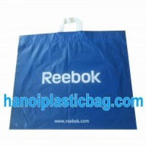 Soft loop shopping bag