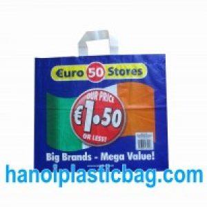 Túi nhựa quai mềm LDPE trắng
