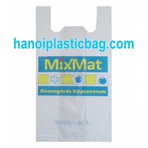 T-shirt plastic shopping bags